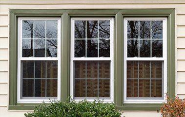 Sliding sash double glazed windows